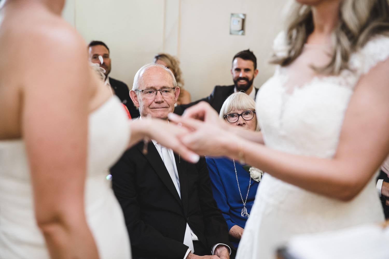 Sharon and Verity Wedding C393
